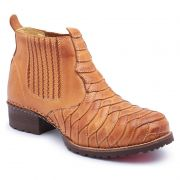 Bota Country Masculina Escamada Tan 197
