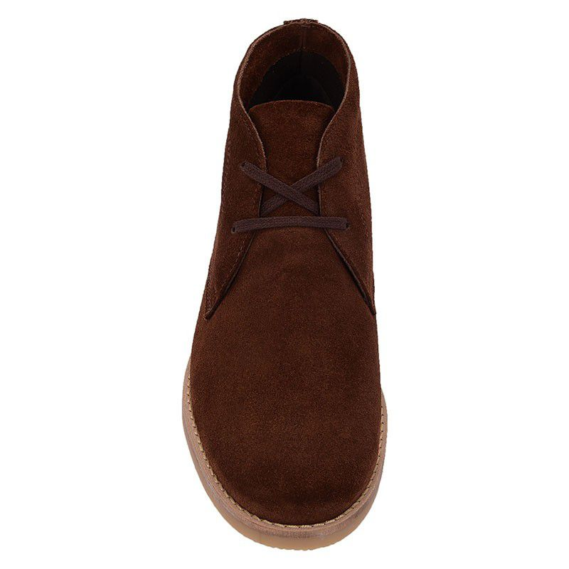 Bota Desert Boot Camurça Masculina Café 503