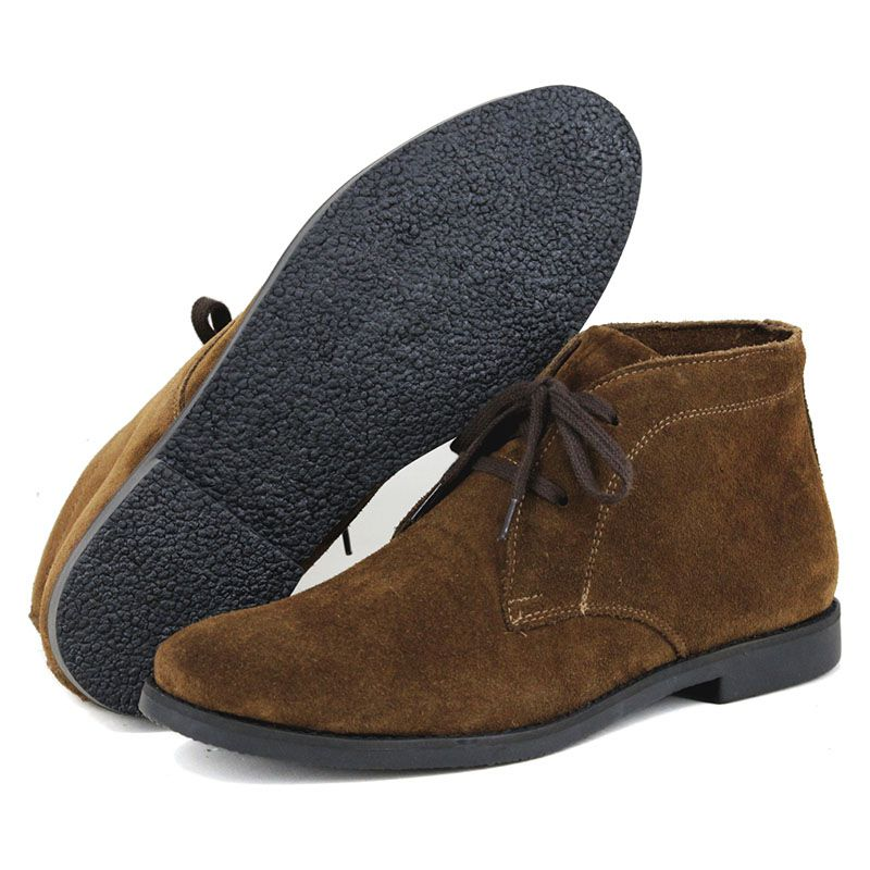 Bota Desert Boot Masculina Camurça Café 503