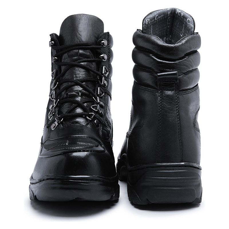 Coturno Militar Masculino Preto com Protetor 1100