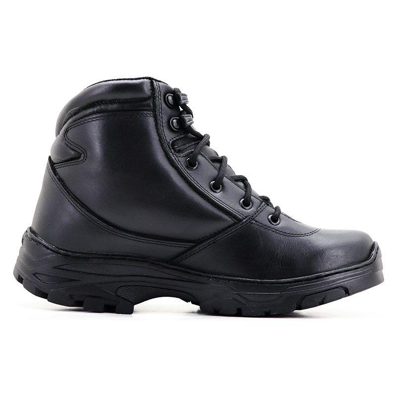 Coturno Militar Masculino Tático Cano Curto Preto 282
