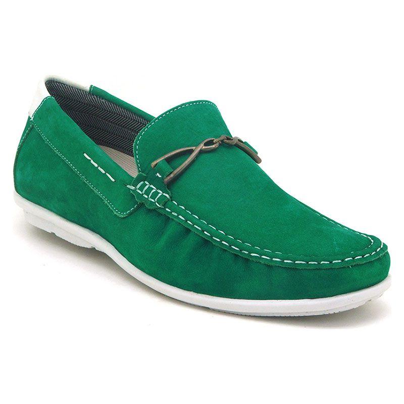Mocassim Masculino Verde Esmeralda 571