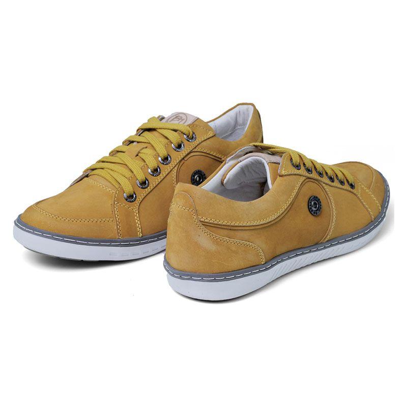 Sapatênis Amarelo Masculino - Mostarda 759-12