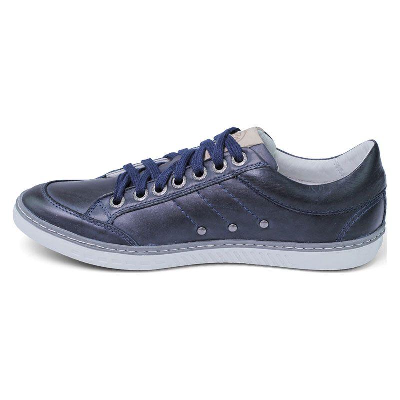 e51f6e6d3f Sapatênis Azul Escuro Masculino - Navy 750-03 na J Calçados