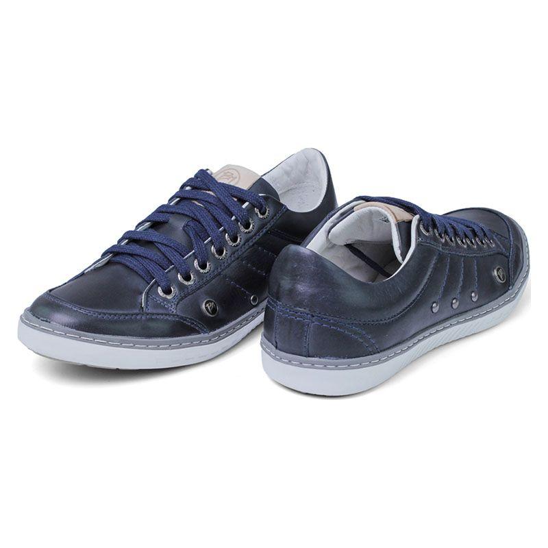 Sapatênis Azul Escuro Masculino - Navy 750-03