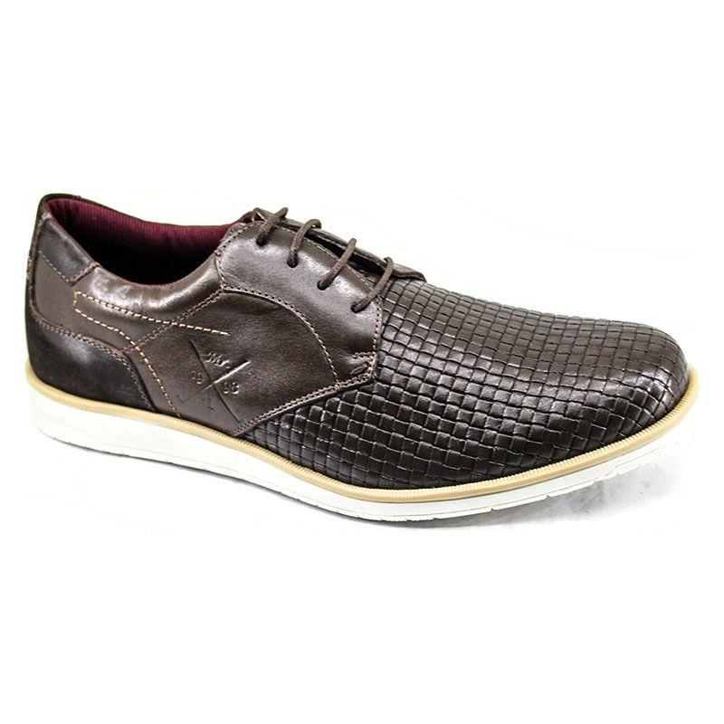 Sapato Oxford Masculino Marrom - Café 606