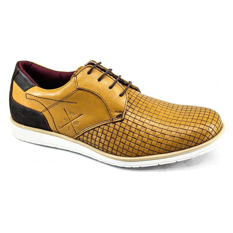 Sapato Oxford Masculino Whisky 606