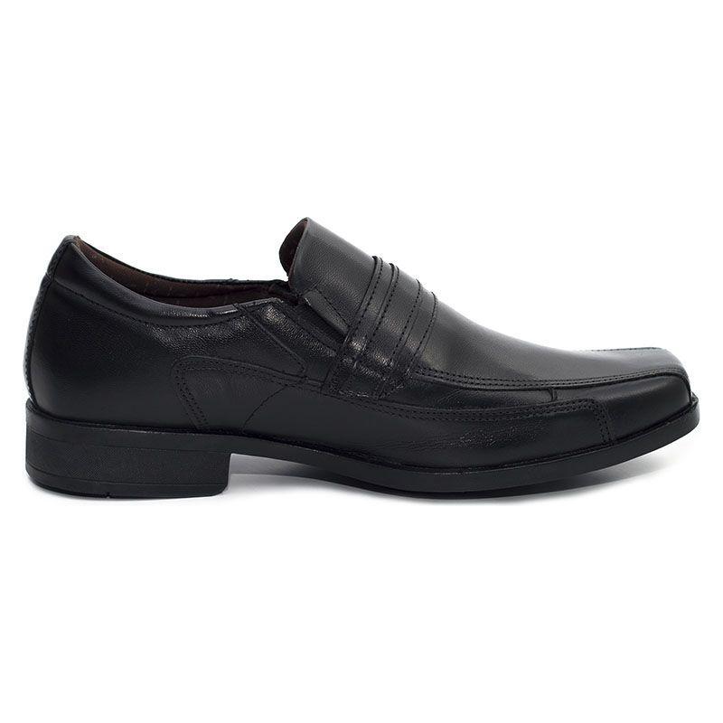Sapato Social Masculino de Couro Preto 2035