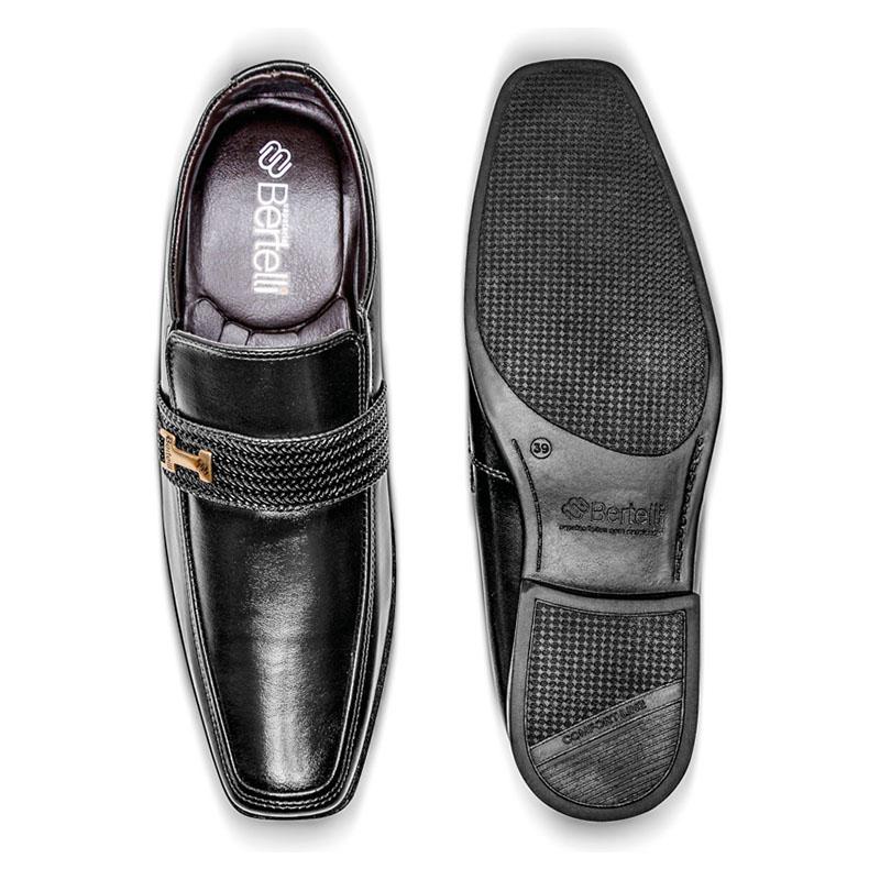 Sapato Social Masculino Preto 70132