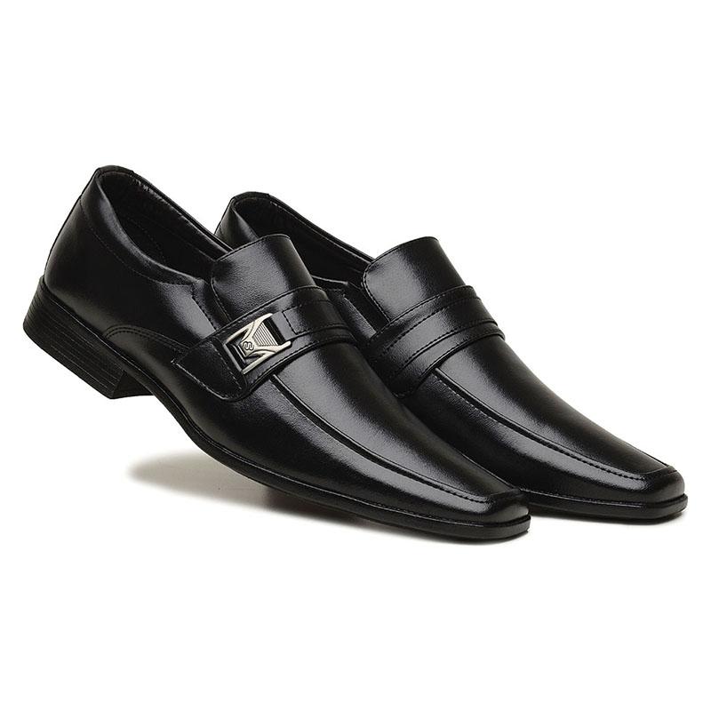 Sapato Social Masculino Preto 70154
