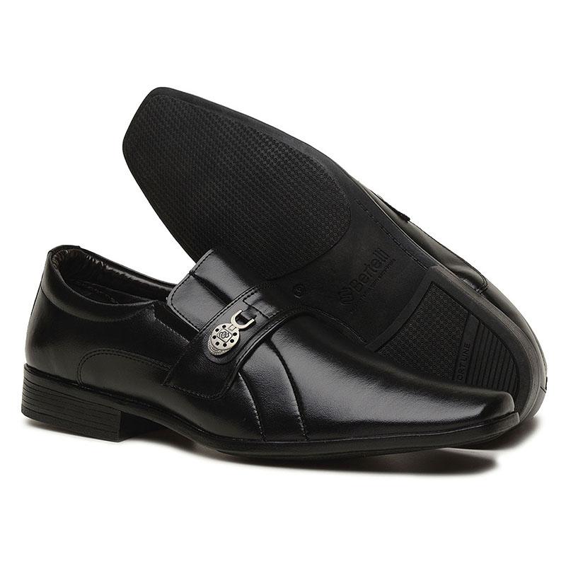 Sapato Social Masculino Preto 70165