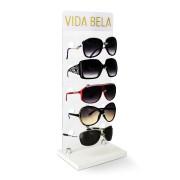 101 - Expositor de Vitrine Para 5 Óculos