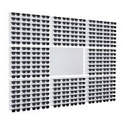 220 - Expositor De Parede Para 224 Óculos