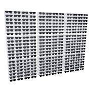 Me219 - Expositor De Parede Para 252 Óculos