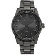 Relógio Feminino Euro EU2035YLC/4K Pulseira Aço Preta