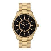 Relógio Feminino Euro EU21176HAA/4P 42mm Aço Dourado