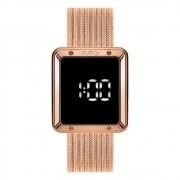 Relógio Feminino Euro Fashion Fit Touch EUBJ3937AB/4F 36mm Aço Rose