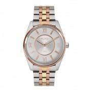 Relógio Feminino Euro Maxi Colors EU2036YPN/K5C 41mm Tricolor Prata/Dourado/Rose