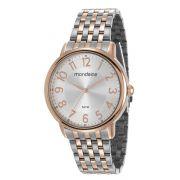 Relógio Feminino Mondaine 53673LPMVGE3 40mm Aço Bicolor Prata/Rose