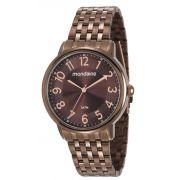 Relógio Feminino Mondaine 53673LPMVME2 40mm Aço Marrom