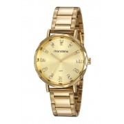 Relógio Feminino Mondaine 53773LPMVDE4 40mm Aço Dourado
