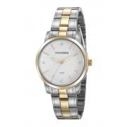 Relógio Feminino Mondaine 99481LPMVBA3 36mm Aço Bicolor Prata/Dourado