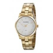 Relógio Feminino Mondaine 99481LPMVDA1 36mm Aço Dourado