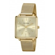 Relógio Feminino Mondaine 99487LPMVDE1 36mm Aço Dourado