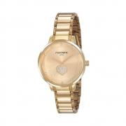 Relógio Feminino Mondaine Cristais 53863LPMVDE1 36mm Aço Dourado