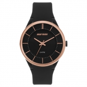 Relógio Feminino Mormaii MO2035KN/8J 40MM Silicone Preto