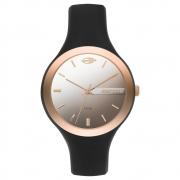 Relógio Feminino Mormaii MO2035KR/8Q 41mm Silicone Preto