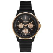 Relógio Feminino Mormaii MO6P29AI/8J 41mm Silicone Preto