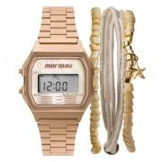 Relógio Feminino Mormaii Vintage MOJH02AT/K4J 34mm Aço Rose