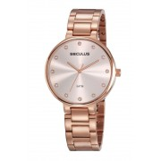 Relógio Feminino Seculus 23688LPSVRS4 40mm Aço Rosé