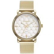 Relógio Feminino Technos 2039CO/4K 40mm Aço Dourado