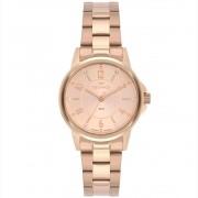 Relógio Feminino Technos Boutique 2035MTQ/1T 32mm Aço Rosé