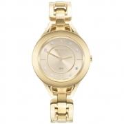 Relógio Feminino Technos Elegance Elos GL20HM/1X 37mm Aço Dourado