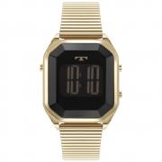 Relógio Feminino Technos Fashion Digital BJ3927AL/1P 36mm Aço Dourado