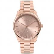 Relógio Feminino Technos Fashion Trend 2036MOI/1T 40mm Aço Rose