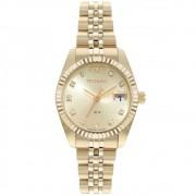 Relógio Feminino Technos Riviera GL10IG/1D 28mm Aço Dourado