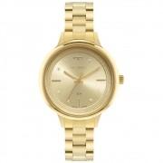 Relógio Feminino Technos Trend 2039DB/1X 38mm Aço Dourado