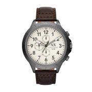 Relógio Masculino Armani Exchange AX1757/0BN 50mm Couro Marrom