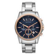 Relógio Masculino Armani Exchange AX2516/1KN 44mm Aço Prata