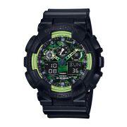 Relógio Masculino Casio G-Shock GA-100LY-1A 48mm Preto