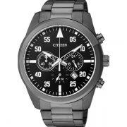 Relógio Masculino Citizen TZ30795P 43mm Aço Preto