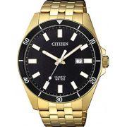 Relógio Masculino Citizen TZ31114U 43mm Aço Dourado