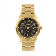 Relógio Masculino Condor CO2115KWZ/4D 46mm Aço Dourado