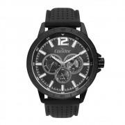 Relógio Masculino Condor Traveler CO6P29JE/4P 48mm Silicone Preto