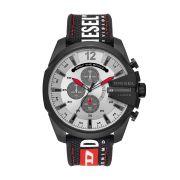 Relógio Masculino Diesel Mega Chief DZ4512/8PN 53mm Nylon/Silicone Preto