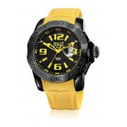 Relógio Masculino Everlast E563 53mm Silicone Amarelo